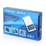 грамм маштаба 600g/0.01 цифров карманный для ювелирных изделий с Backlit