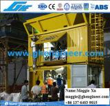 Empaquetamiento eléctrico del fertilizante del grano y pesaje de la máquina móvil automática
