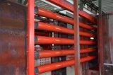 Tubo d'acciaio verniciato rosso dello spruzzatore del sistema di protezione antincendio dell'UL FM ASTM