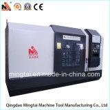 Tour de garniture de commande numérique par ordinateur Endface Lathe/CNC/métal tournant la machine horizontale de tour