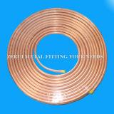 Flexibler Pfannkuchen-Ring-kupfernes Gefäß für medizinisches Gas
