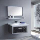 標準的なデザイン壁のステンレス鋼の浴室の虚栄心
