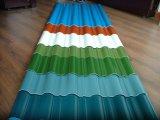 Farbige gewölbte Dach-Blätter auf Verkauf