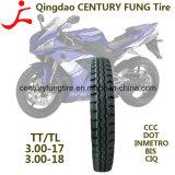 Pneumático resistente 3.00-17 3.00-18 do pneu da motocicleta