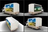Exhibición al aire libre de la fuente del profesional Exhibición móvil de la publicidad del LED con la etapa plegable
