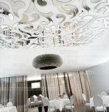 Hoja de acrílico del espejo de PMMA para la decoración de la visualización de pared