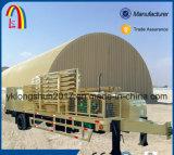 Máquina de construção de telhado de arco hidráulico completo sem mós para Rússia