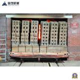 De groene Distributie van de Baksteen en de Machine van de Carrier/Baksteen die voor het Maken van de Baksteen Machine/de Machine van de Baksteen van de Stapel plaatsen