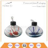 Lámpara de petróleo de cristal decorativa en diversos colores