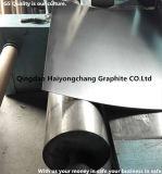 Hoja del grafito reforzada con el acoplamiento de alambre