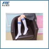 Señora de encargo Girls Sock Long Stockings del diseño de la raya
