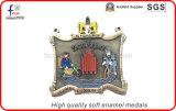 高品質の柔らかいエナメルの骨董品の真鍮のPatedメダルスポーツメダル