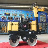 Mini rullo compressore vibratorio della rotella d'acciaio liscia (FYL-800C)