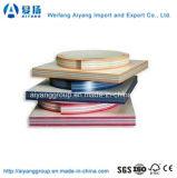 プラスチックPVC/ABSの端のトリム、PVC端Lippingまたは家具カバーのためのバンディング