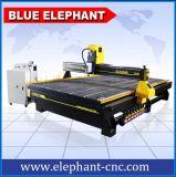 Máquina de gravura de madeira das portas, madeira do CNC que processa a maquinaria para gabinetes
