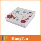 Коробка подарка косметического дух конструкции способа упаковывая бумажная