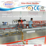 Running Lines를 가진 PVC Door Window Frames Production Line