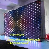 P5cm RGB 3in1 LED Anblick-Vorhang mit Controller-Partei/Disco-/Stadiums-Licht