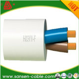 2 코어 1.5mm2 PVC에 의하여 넣어지는 구리 다중 물가 둥근 유연한 H03VV-F 케이블