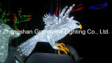 diodo emissor de luz Ornament Light de 24V White Vivid Eagle como Christmas Holiday Decoration