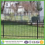 Jardin en acier enduit de poudre bon marché en gros clôturant pour décoratif