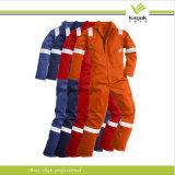 Bata reflexiva del trabajo de la seguridad del algodón de los hombres de encargo (KY-U652)