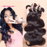 Волосы девственницы человеческих волос Unprocessed объемной волны бразильские