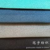 Tissu 100% à la maison de velours de textile de polyester superbe de doux