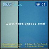 Blaues Grau-Grün-blaue Bronze Glas abgetönt