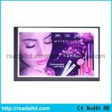表示LED細い磁気ライトボックスの印の広告