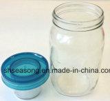 [سكرو كب] مزدوجة/بلاستيكيّة غطاء/زجاجة تغذية ([سّ4301])
