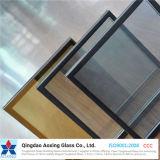 Vidrio aislado/aislador reflejado/del flotador para el panel de cristal