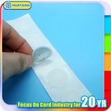 Étiquette de papier sèche faite sur commande d'étiquette de collant de disque de NATG213 NFC pour l'identification