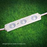 Luz do módulo da injeção do diodo emissor de luz do brilho elevado 12V 3PCS de preço de grosso