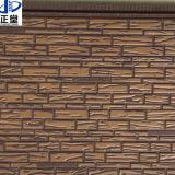 Umidade - painel de parede exterior da prova