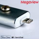 OTG-Разбалластование и вспышка USB привод для пользы аттестованного Mfi iPhone и iPad