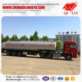 De 3 essieux d'asphalte de transport de camion-citerne remorque semi pour l'exportation