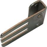 Metal de hoja de encargo de la precisión que estampa piezas