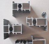 Perfil de alumínio pulverizado pó da construção do frame de alumínio