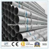 Tubo e tubo tuffati caldi saldati differenti del acciaio al carbonio di formato