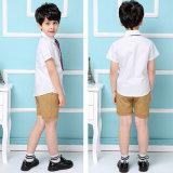 Chemise d'école primaire d'uniforme scolaire et uniforme uniformes de jupe pour l'été