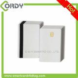 Sle4442/sle5542チップが付いているブランク白PVC接触ICのメモリ・カード