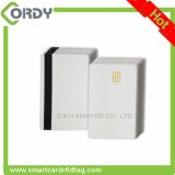 Sle4442/sle5542 칩을%s 가진 공백 백색 PVC 접촉 IC 메모리 카드