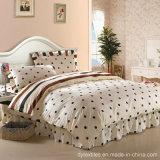 クラシックの100%年の綿のベッドのスカートのベッドカバーのタイプ寝具の組