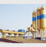usine de traitement en lots concrète automatique de la qualité 50m3/H/centrale de malaxage concrète