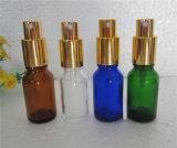 Бутылки эфирного масла стеклянные с по-разному крышкой