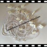 Etiqueta de la caída de la cadena de la ropa/Hangtag de calidad superior /Plastic (ST015) del sello