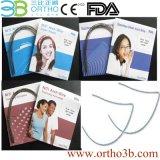 Collegare ovali dell'arco di Niti dei materiali ortodontici