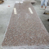 G687 het Rode Goedkope Opgepoetste Graniet van de Perzik met Uitstekende kwaliteit
