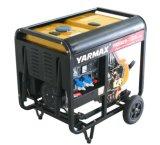 Gerador 5.2kw Diesel aprovado do Ce de Yarmax para a central eléctrica ou a eletricidade Home da fora-Grade
